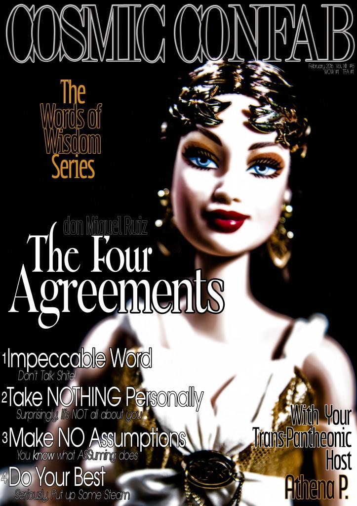 Four Agreements with Athena Parthenos